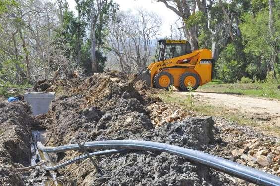 La ressource en eau s'améliore à Arama