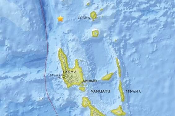 L'alerte au tsunami levée au Vanuatu