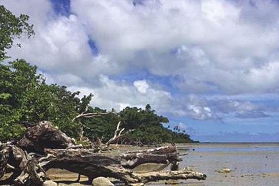 L'érosion du littoral à Wallis est inquiétante