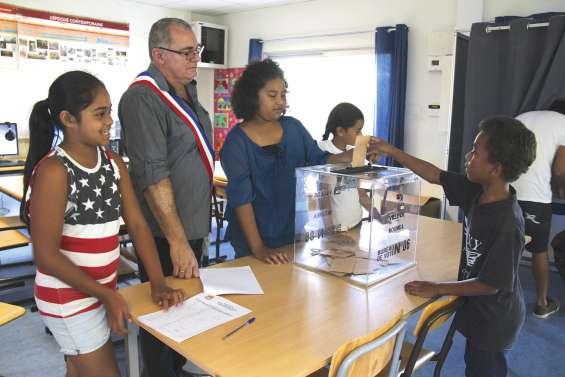 Les écoliers élisent leurs conseillers