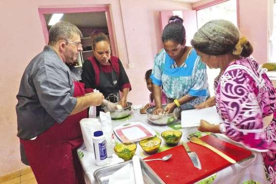 Les produits locaux  inspirent les cuisinières