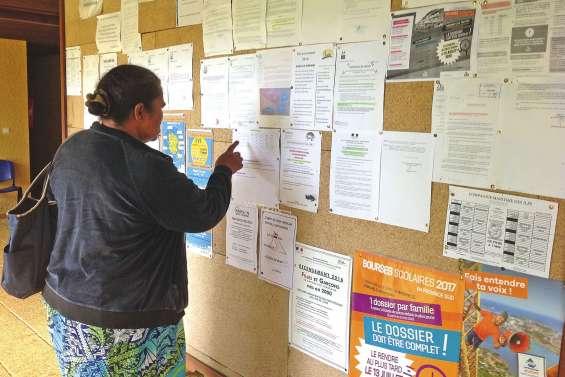 La liste référendaire consultable en mairie