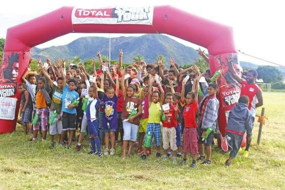 Près de cent jeunes enthousiastes pour le sport