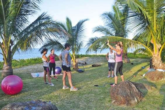 Du fitness en plein air sur la côte Est
