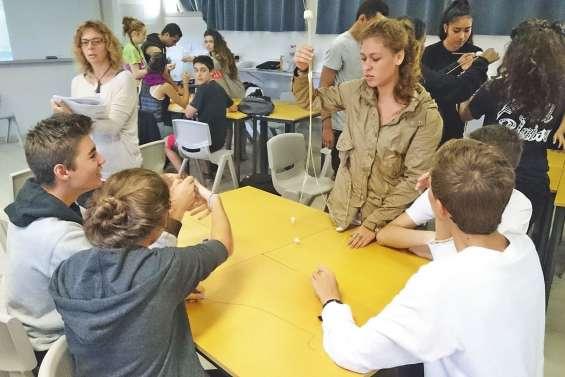 Une classe numérique qui teste ses compétences