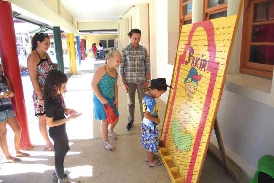 Une kermesse pour aider les élèves