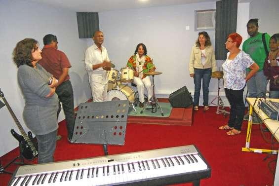 Les musiciens ont leur studio d'enregistrement insonorisé