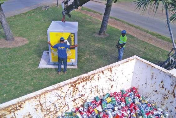 Les collecteurs de canettes Eco-box font le plein