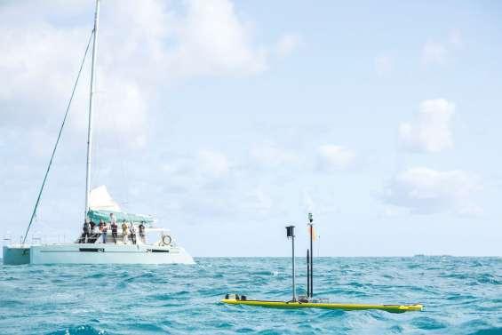 Le premier drone marin de Calédonie débute son périple vers Lifou