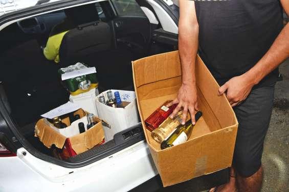 L'alcool à domicile en  province Sud, bientôt fini ?