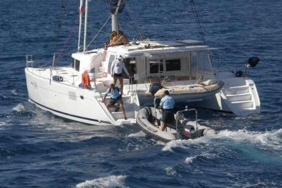 34 bateaux contrôlés dans le lagon