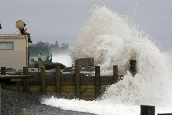 Des vagues de 6 mètres