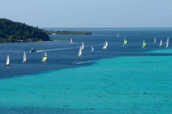 Objectif Great lagoon regatta en 2011