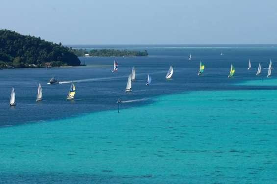 Objectif Great lagoon regatta en 2011