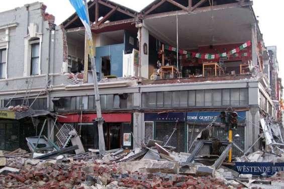 Violent tremblement de terre à Christchurch