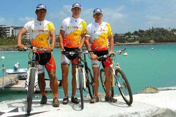 Trois Calédoniens participent à l'Abu Dhabi Adventure Challenge