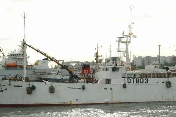 Le naufrage d'un chalutier sud-coréen fait 22 morts
