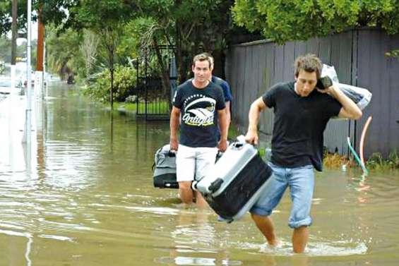 Auckland les pieds dans l'eau