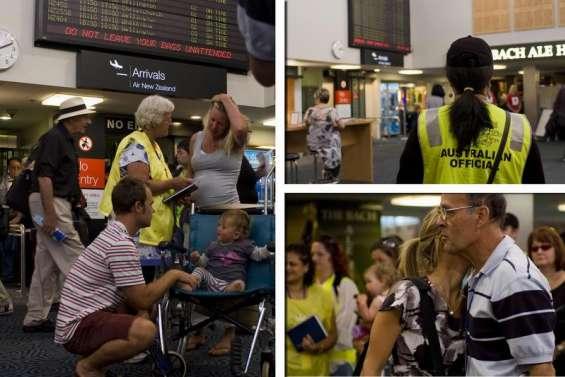 Les premiers sinistrés ont quitté Christchurch
