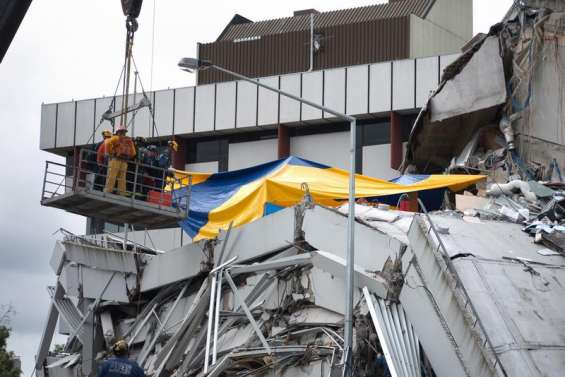 Des Calédoniens au coeur du séisme