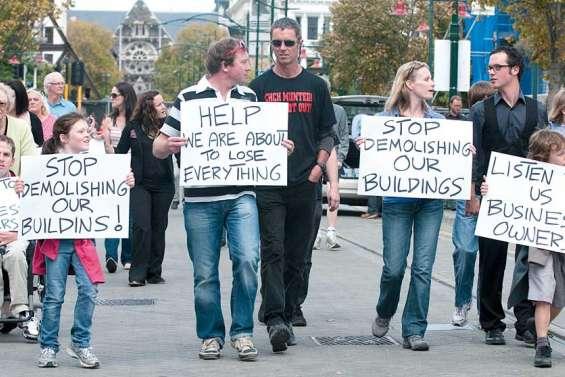 Christchurch sous tension