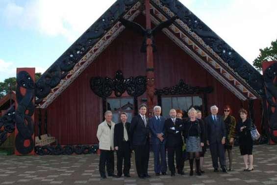 Communion avec les Maoris