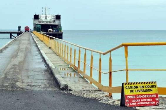 Le wharf de Hwadrilla presque sauvé des eaux