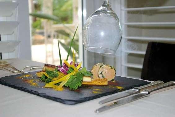 Foie gras cuit et cru, fumé aux herbes froides