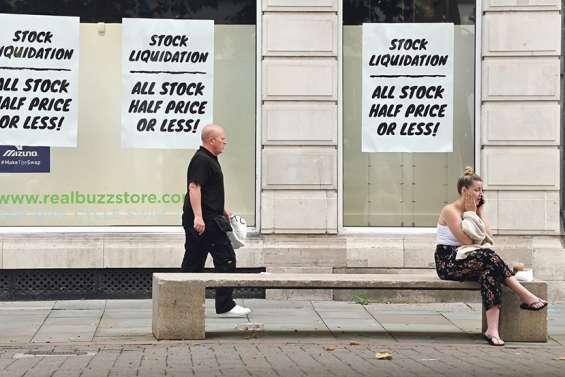 Londres connaît sa pire récession économique