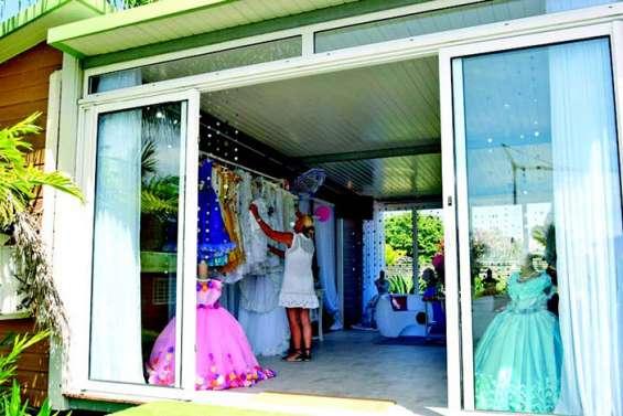 Des robes de princesse à la ZI Cassis