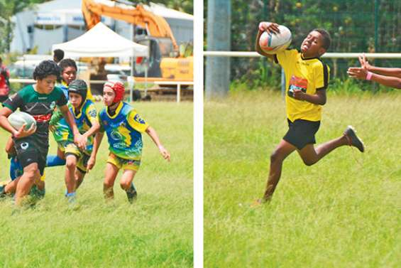 Le rugby continue avec les jeunes