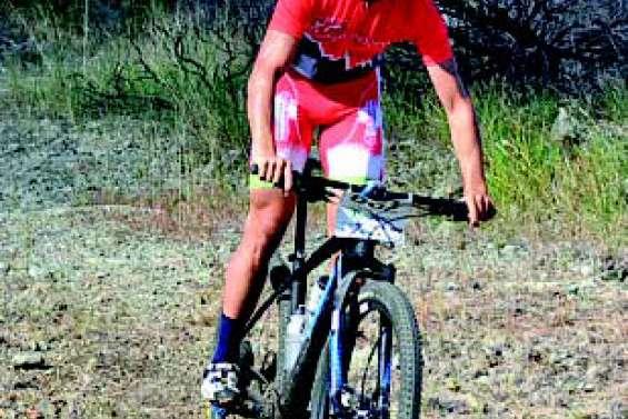 Ryann Lacheny, vainqueur de l'étape du X Caledonia