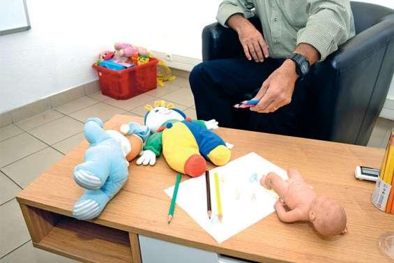 Au commissariat, une salle pour mettre les enfants en confiance