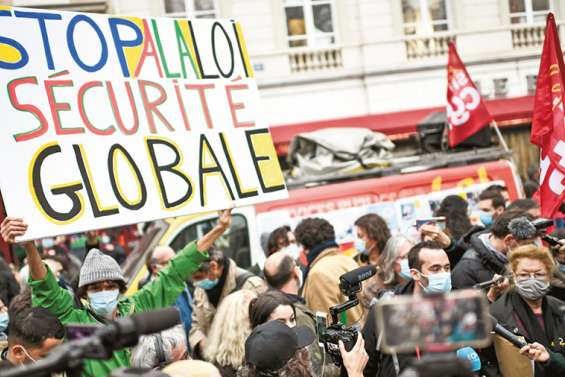 Manifestations contre la loi « sécurité globale »