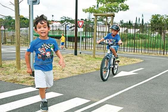 Une piste dédiée à la sécurité routière au cœur de Dumbéa
