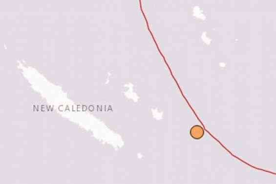 Un séisme enregistré  samedi au large de Maré