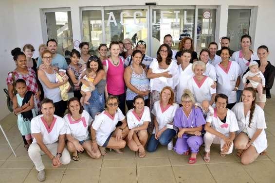 L'allaitement maternel suscite beaucoup d'intérêt à la clinique Kuindo-Magnin