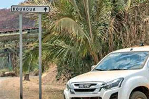 La Serpentine de Kouaoua incendiée,  le convoyeur à l'arrêt
