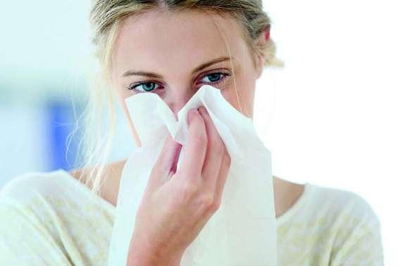 Pour moucher la sinusite