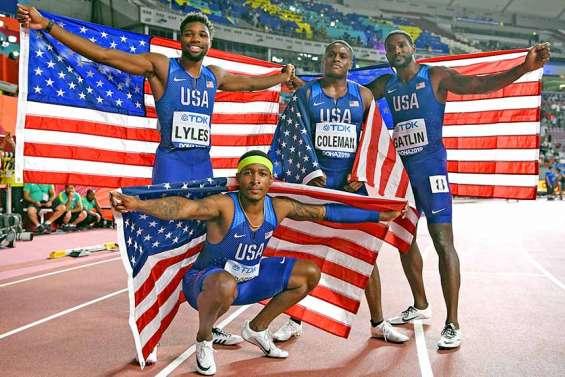 Les Américains redeviennent les meilleurs sprinteurs