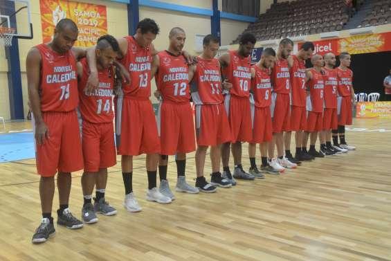 Jeux du Pacifique : les basketteurs arrachent la cinquième place