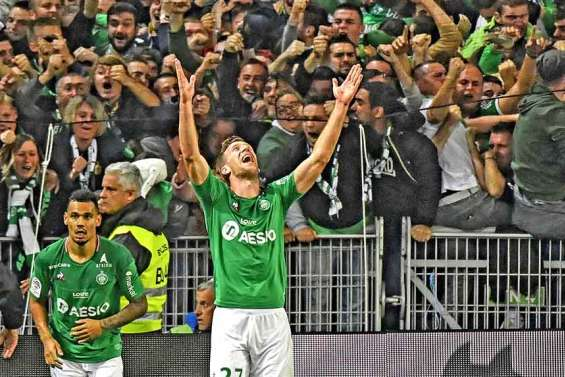 Les Verts assomment l'OL et s'offrent le derby