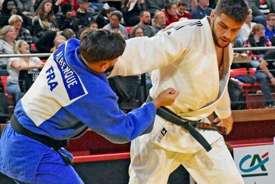 Judo : Alexis Mathieu est vice-champion de France