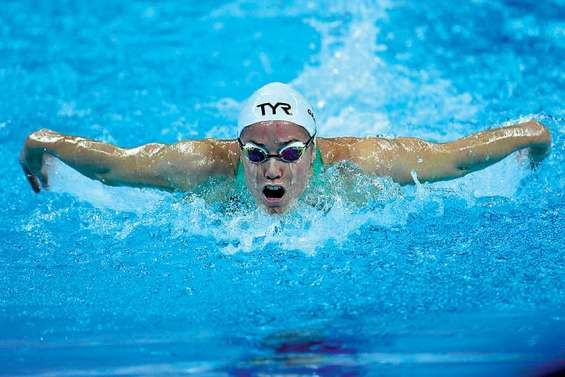 Lara Grangeon frôle la médaille sur 200 m papillon