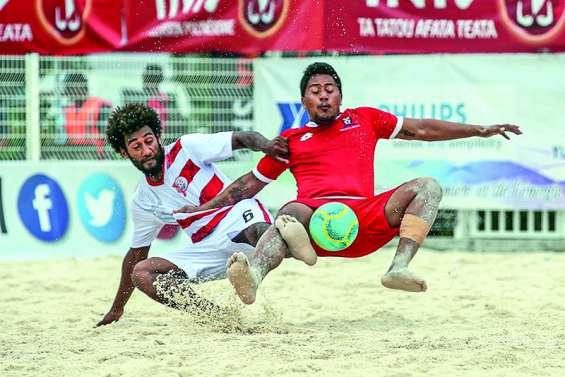 Beach soccer : première victoire en six ans pour les Calédoniens