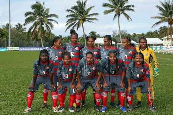 Football : les U19 calédoniennes battues en finale océanienne