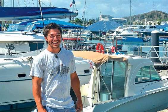 Tom Picot met les voiles vers le championnat de Calédonie