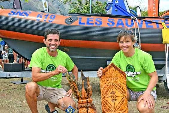 La SNSM et la tribu de Saint-Louis réussissent leur pari