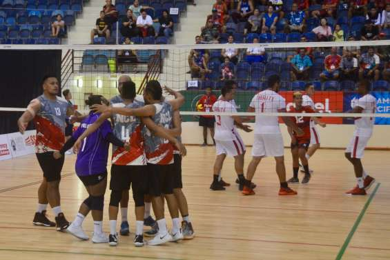 Jeux du Pacifique : les volleyeurs surpris par Tahiti
