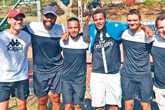 Les joueurs du TC Païta dominent les interclubs